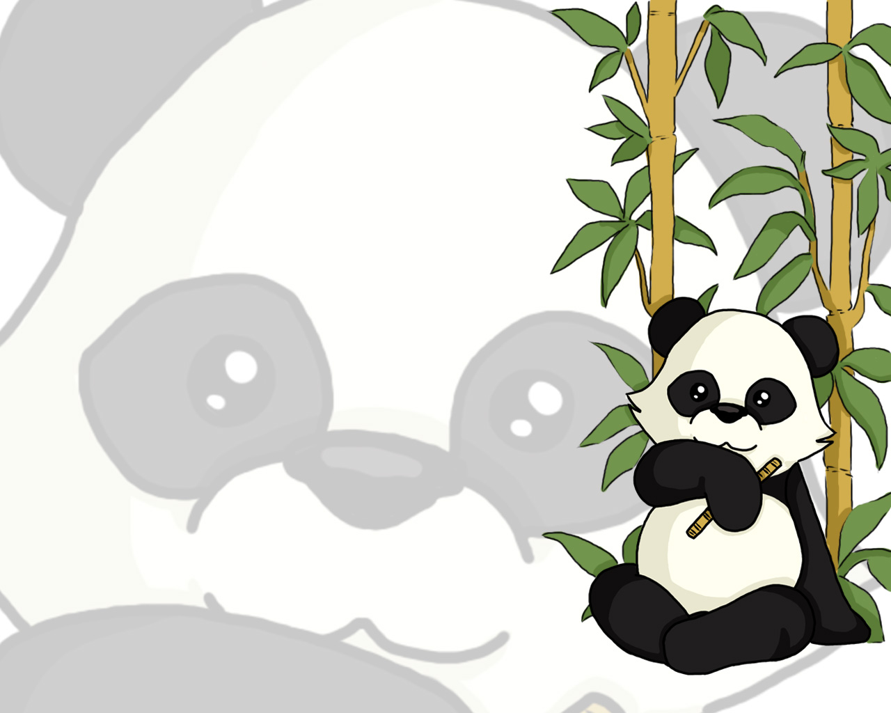 panda wallpaper 1 by BattleAngelMel 1280x1024