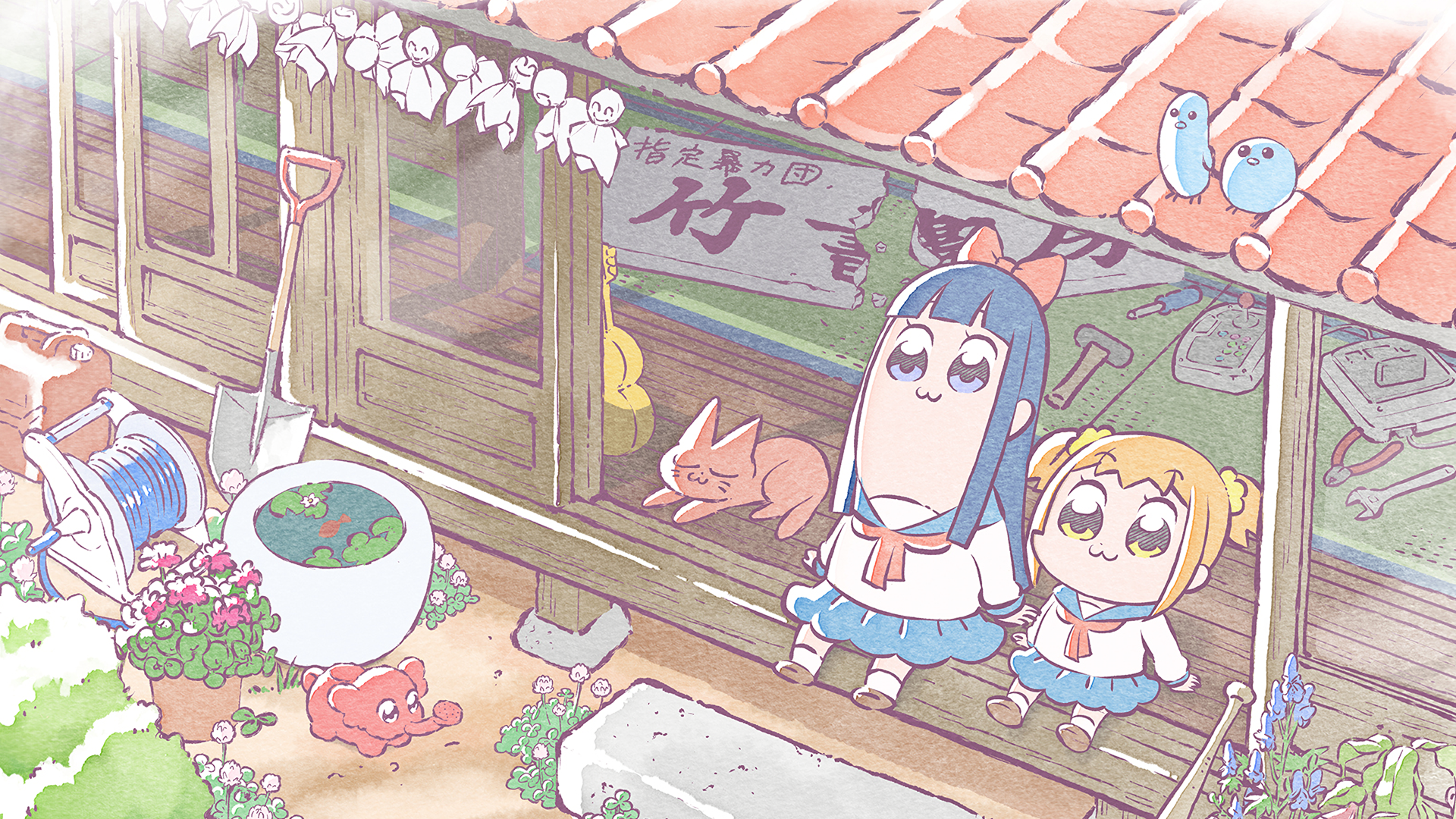 Pop Team Epic Wallpapers And Background 983340   PNG Images   PNGio 1920x1080