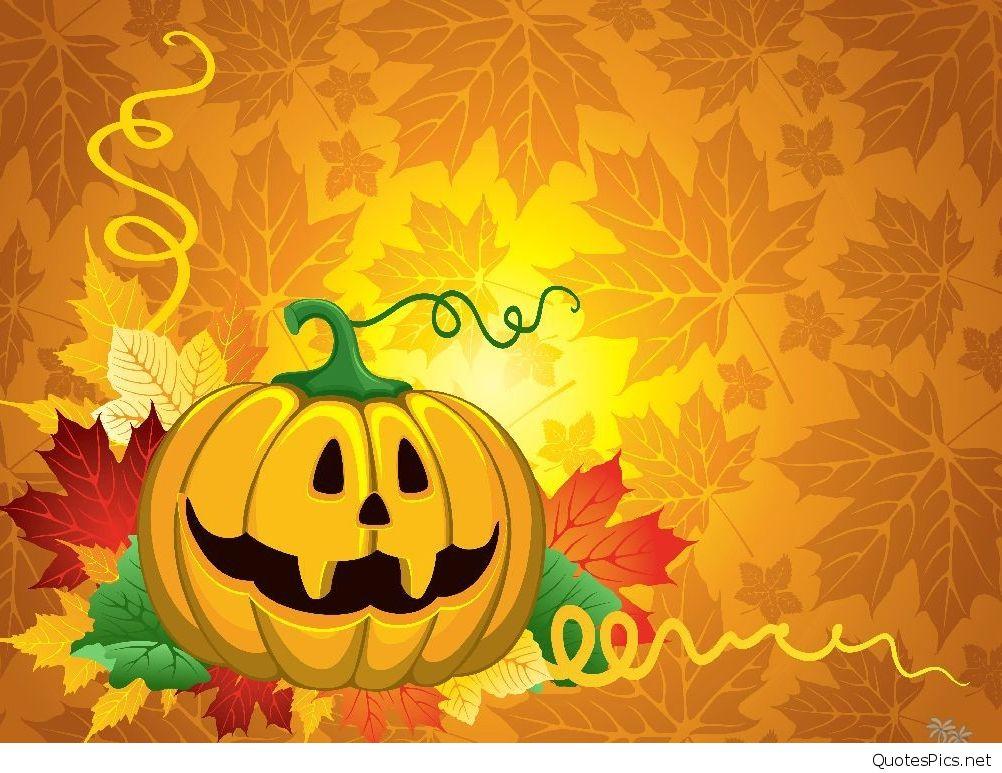 Scary Happy Halloween pumpkin sayings cards 2016 1002x773