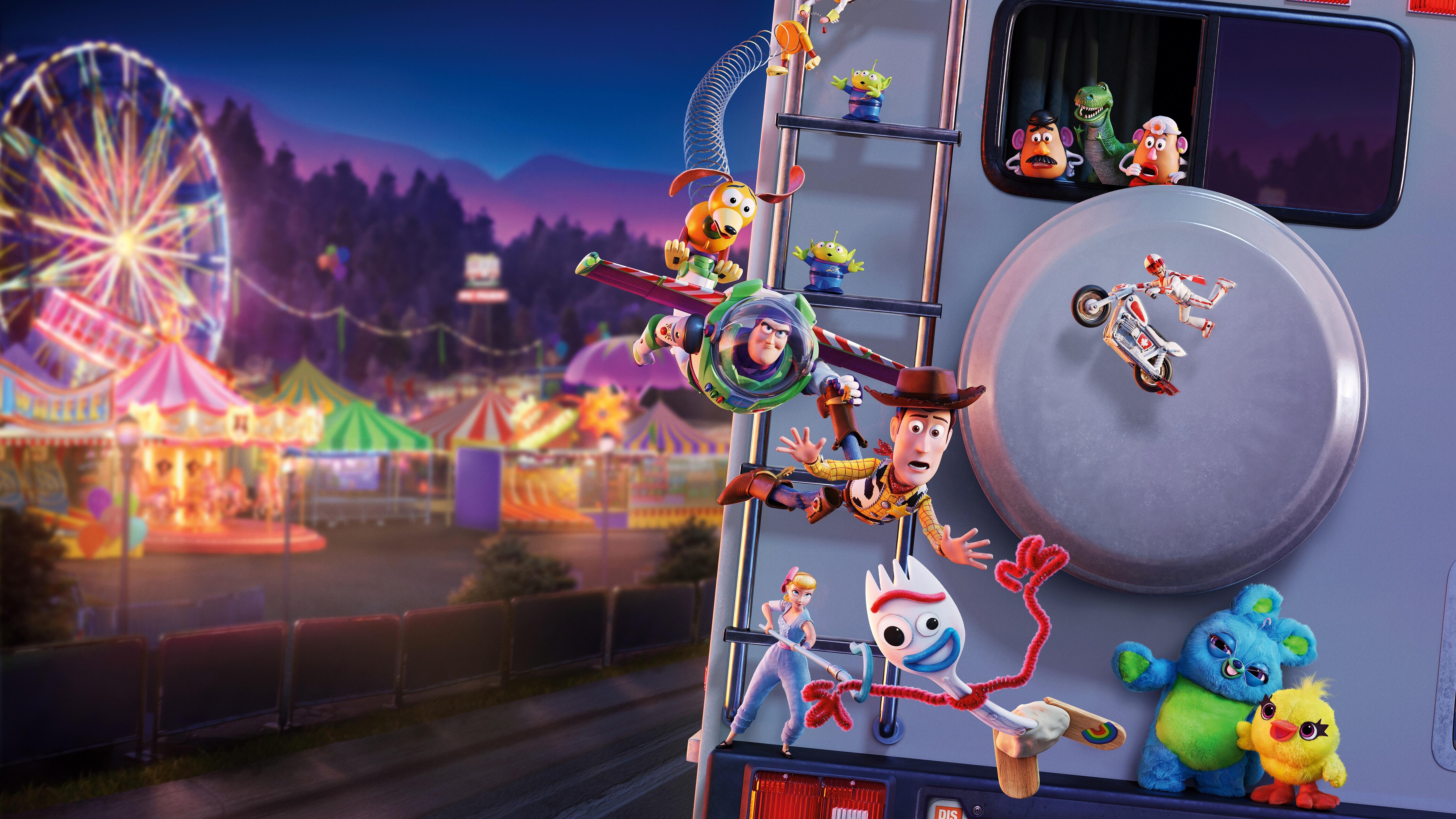 Toy Story 4 5k Retina Ultra HD Wallpaper Background Image 5120x2880
