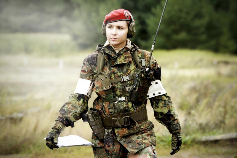 women military germany bundeswehr beret psyop image - Females In ...