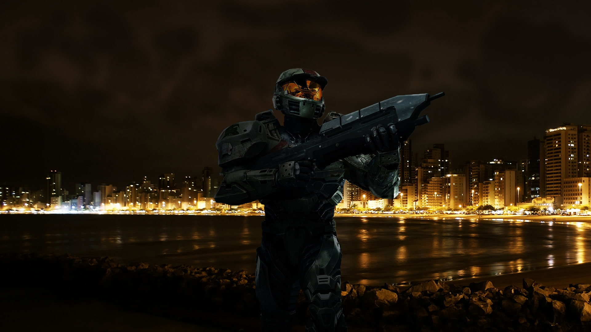 Epic Halo Space Battle Wallpaper Video game   halo wallpapers 1920x1080