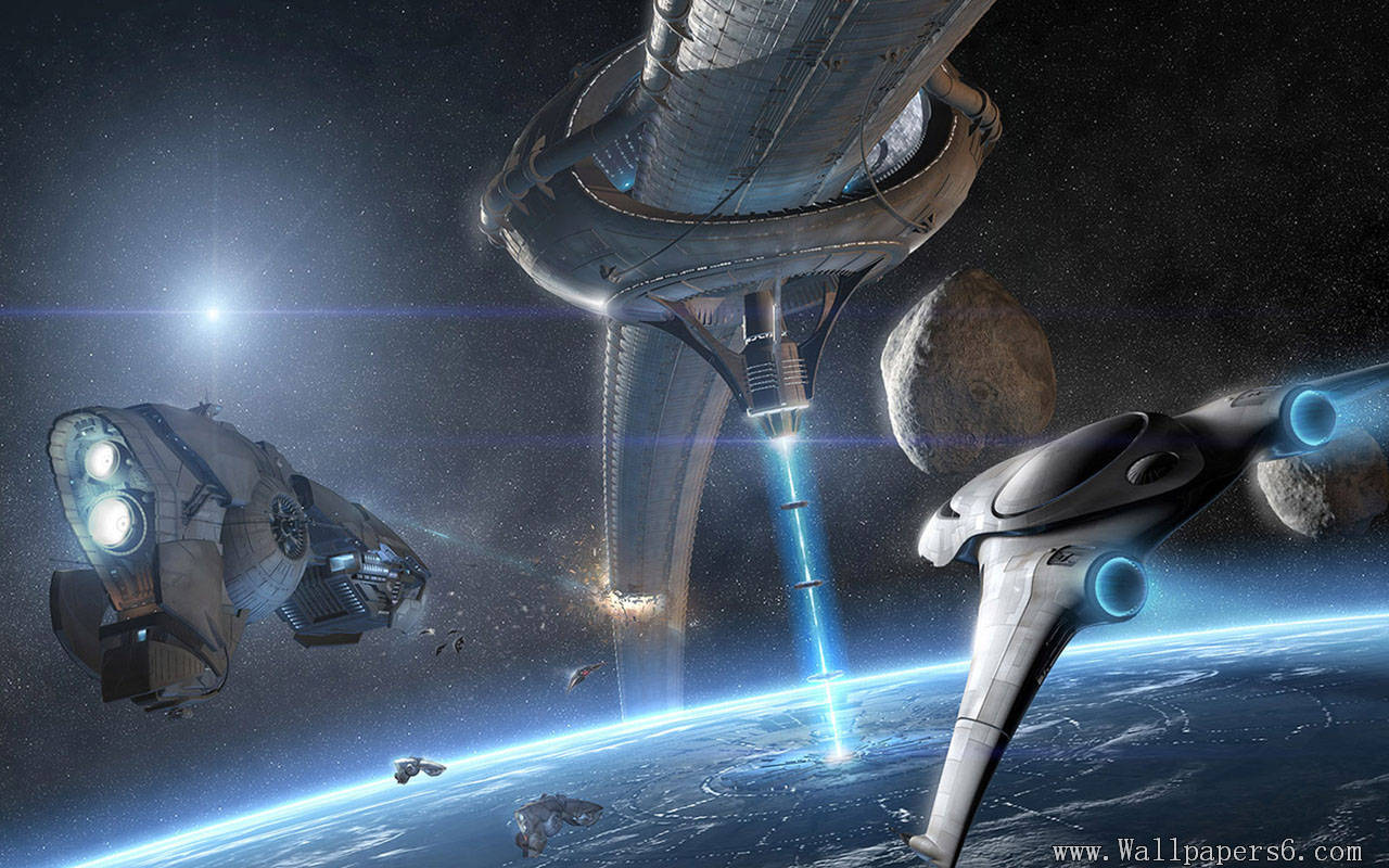 Outer space war - Fantasy Wallpapers - Free download ...