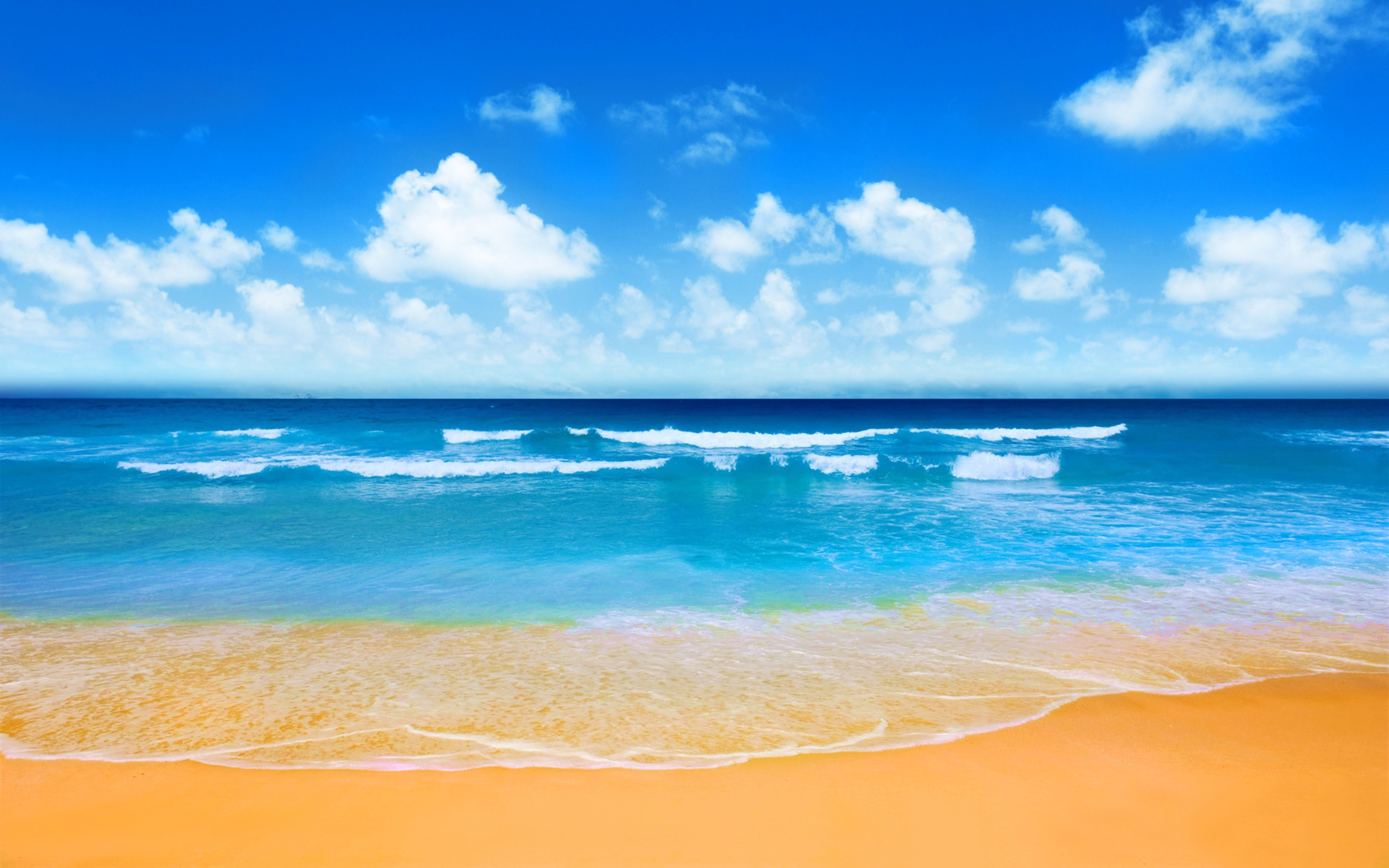 BEACH [17] azure horizon [24april2015friday] [134629 7680x4800