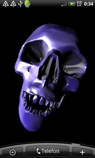 Skull 3D Wallpaper App for Android 307x512
