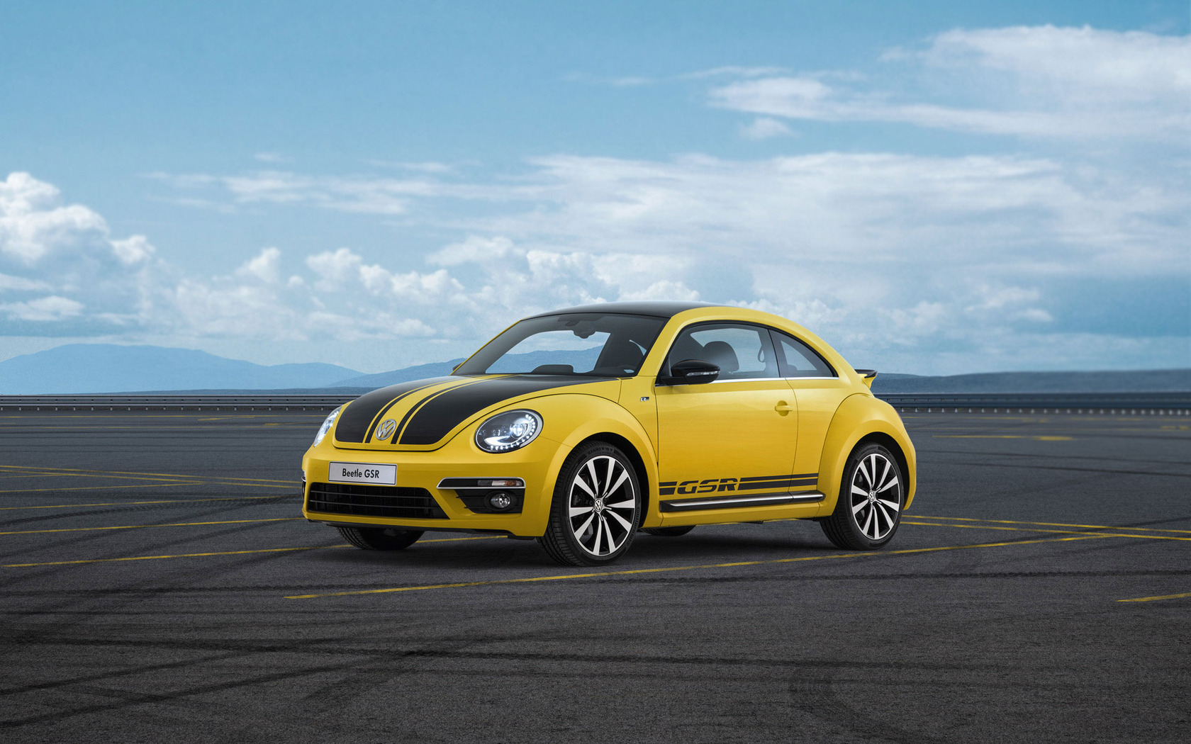 Download 2013 Volkswagen Beetle GSR wallpaper 1680x1050