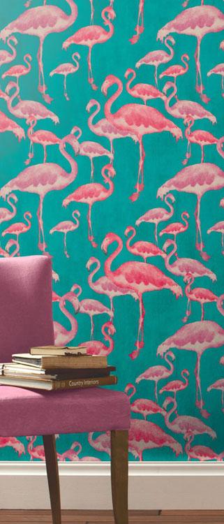 flamingo wallpaper the stunning flamingo beach range of flamingo print 321x750
