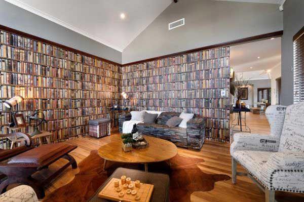 Wallpaper That Looks Like Books Is Really Helpfull The wallpaper 600x399