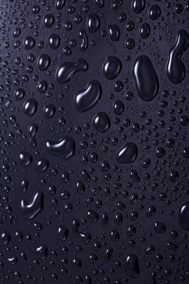 download Black Drops wallpapers for iphone 4 640x960