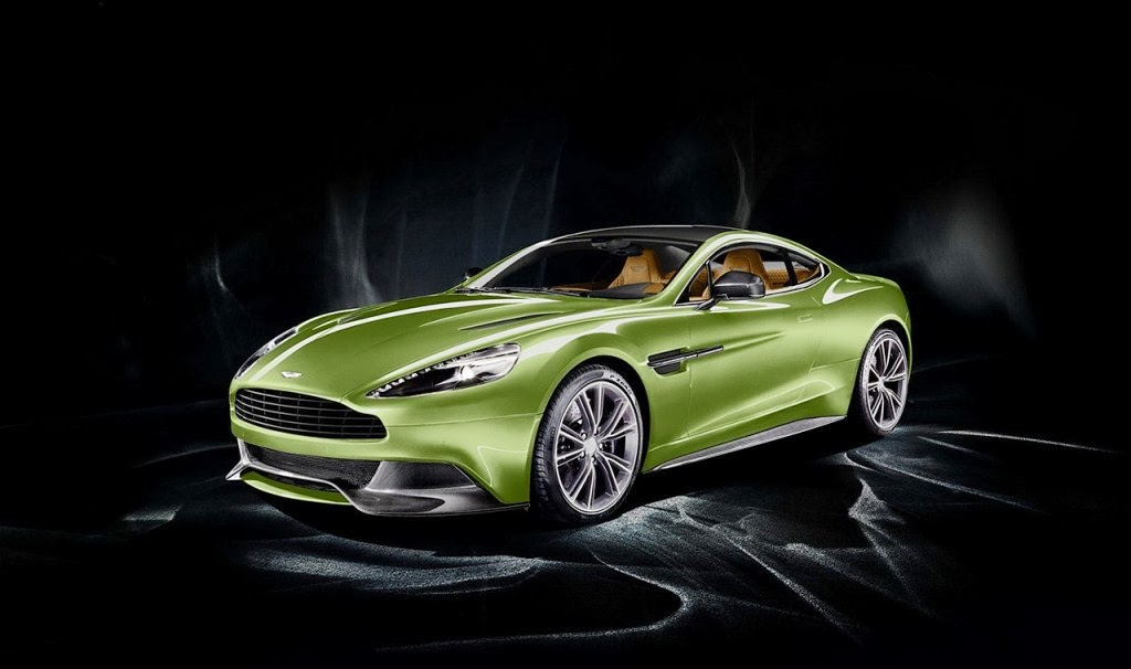 2014 Aston Martin Vanquish Mugiya Green 2 doors car HD resolution 1024x606