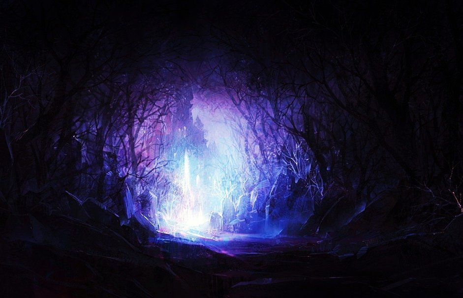 Free Download Enchanted Forest Wallpaper Forwallpapercom 941x606