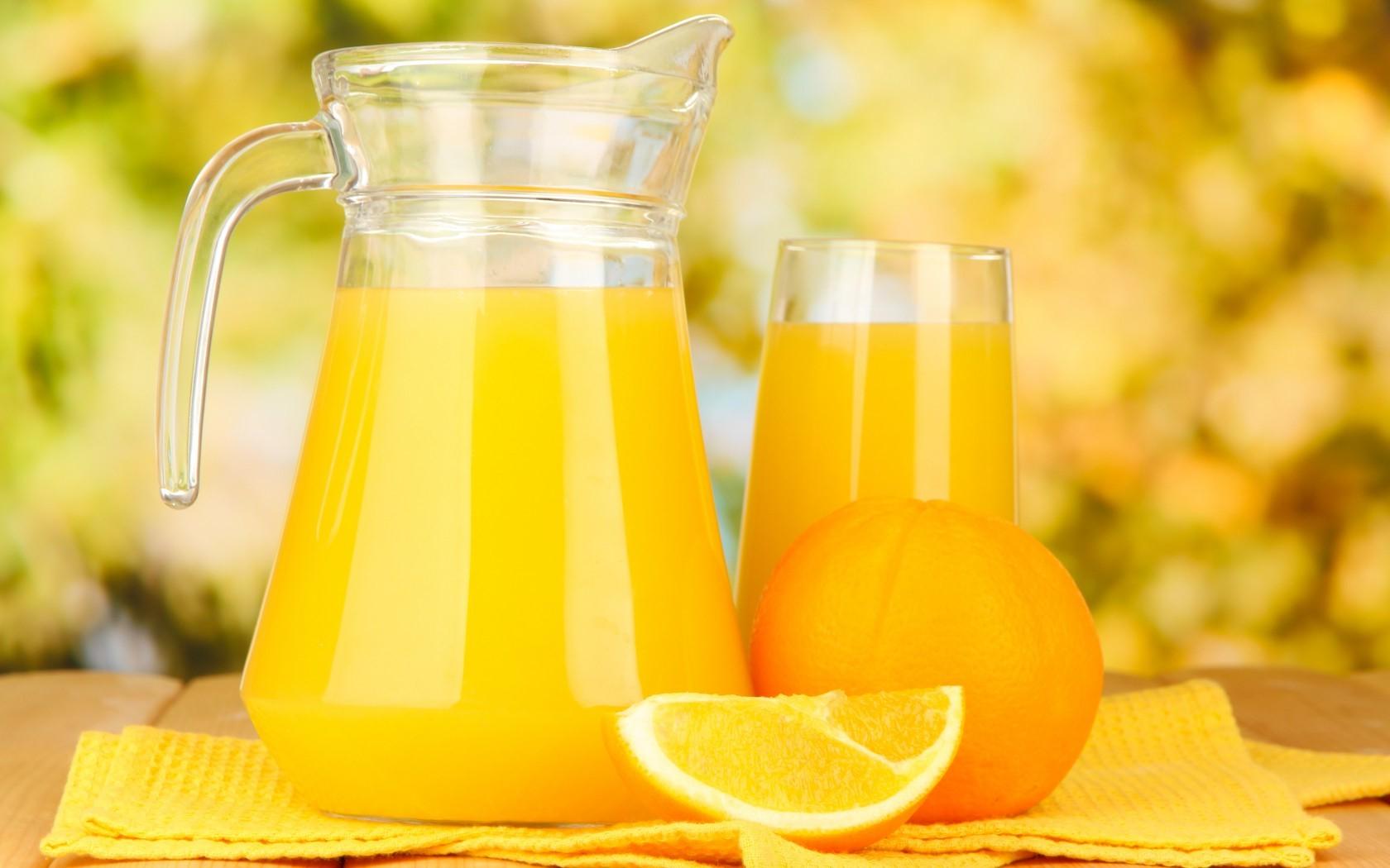 Fresh Orange Juice Wallpaper For Android Wallpaper WallpaperLepi 1680x1050