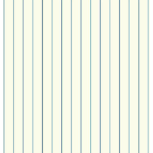 White and Navy Blue 3 Pinstripe Wallpaper contemporary wallpaper 498x500