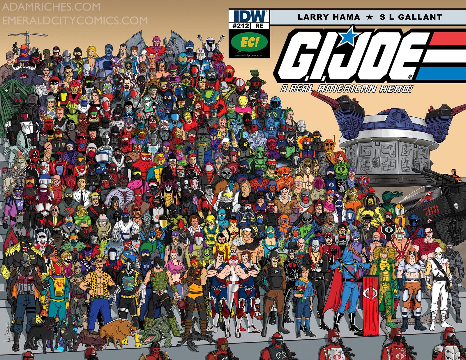 GI Joe A Real American Hero wallpapers Comics HQ GI Joe A 1600x1237