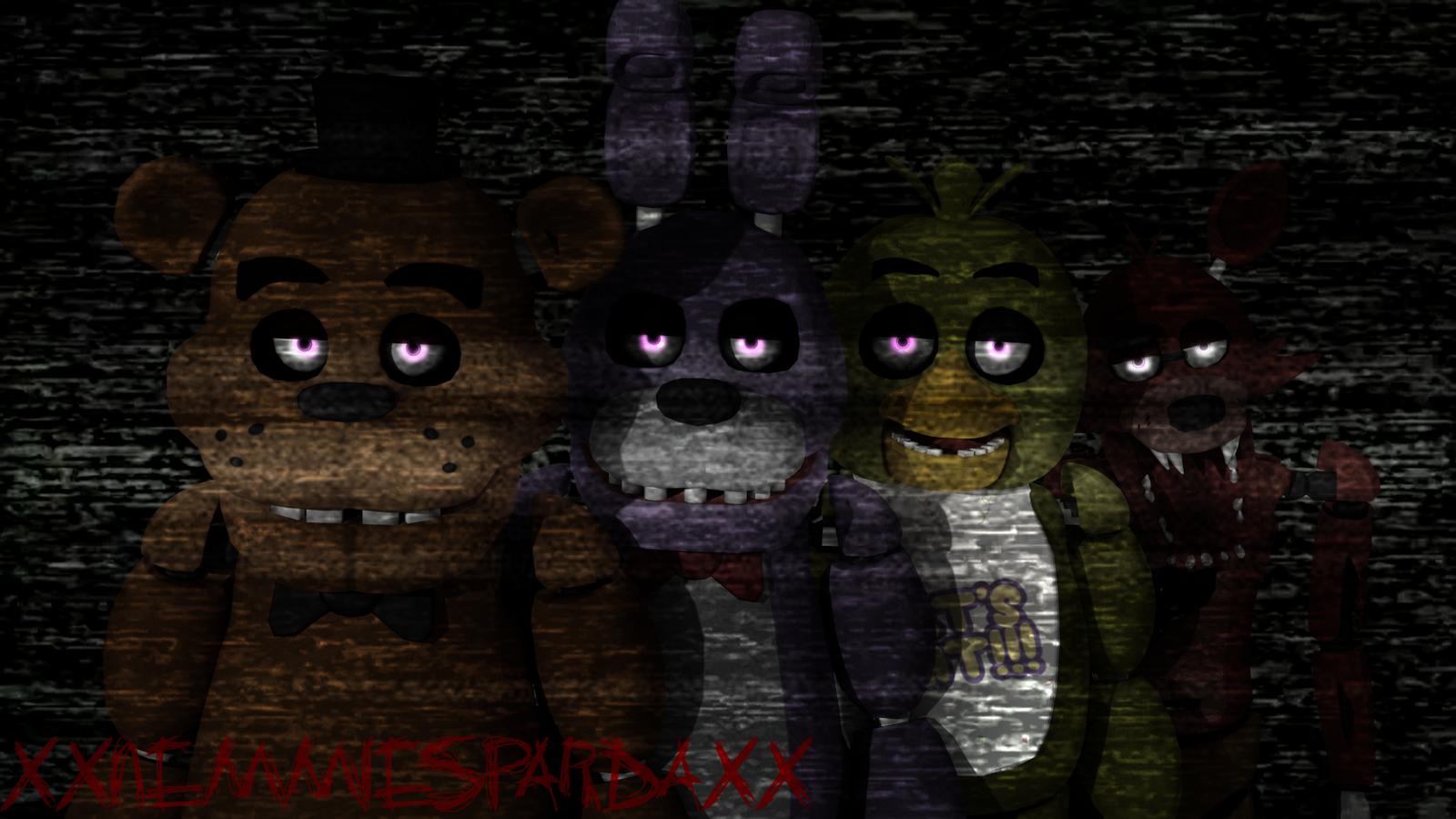 Free Download Five Nights At Freddys By Xxnemmiespardaxx 1600x900