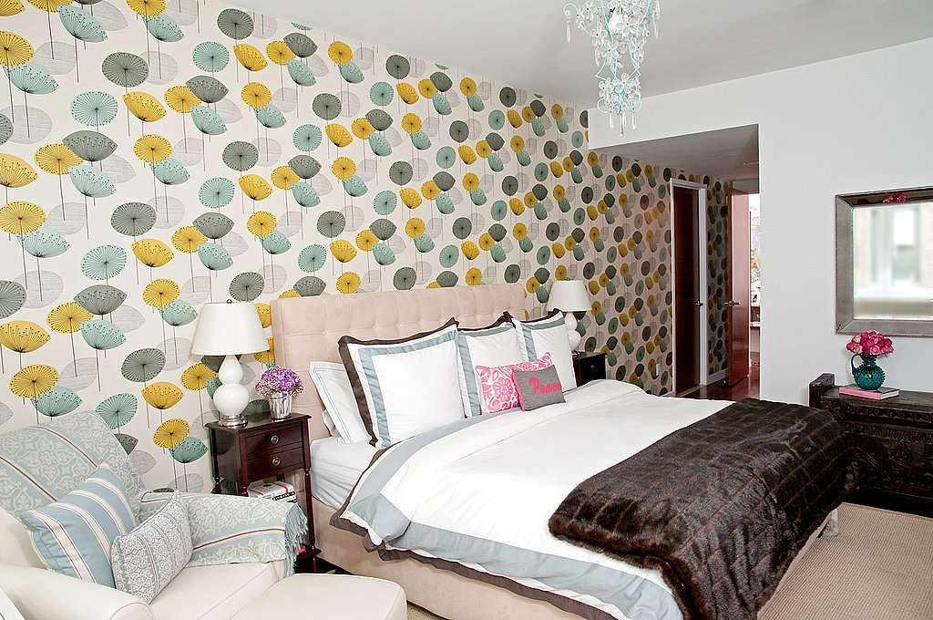 CS The Sanderson Dandelion Clocks wallpaper in your bedroom is one 1024x680