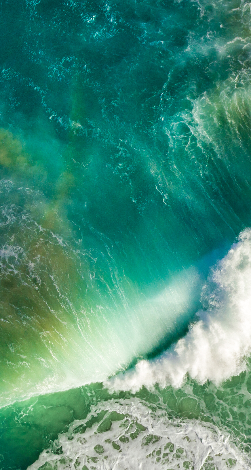 Download the Real iOS 10 Wallpaper for iPhone   iClarified 872x1634