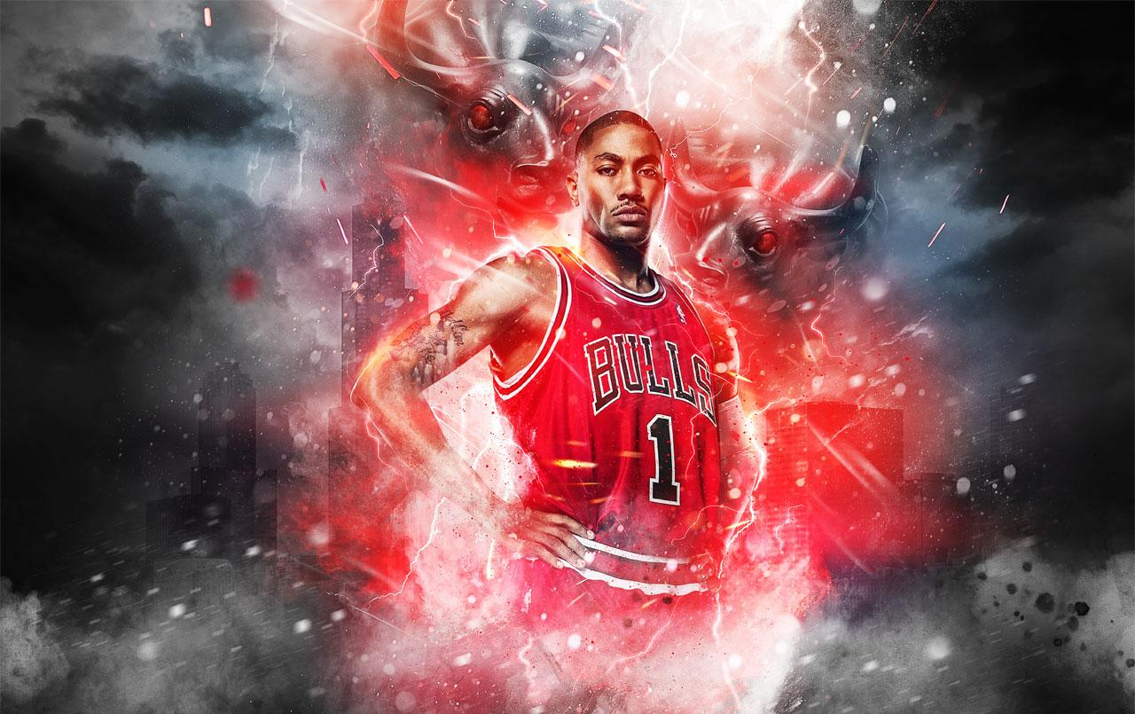 Home Pink ninja wallpaper Derrick Rose Wallpapers 2015 Wallpaper Cave 1280x805