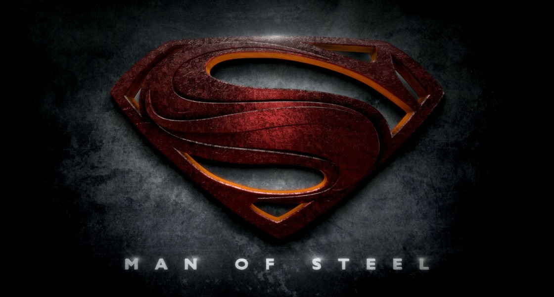 hd wallpaper superman man of steel logo wallpapers55com   Best 1120x600