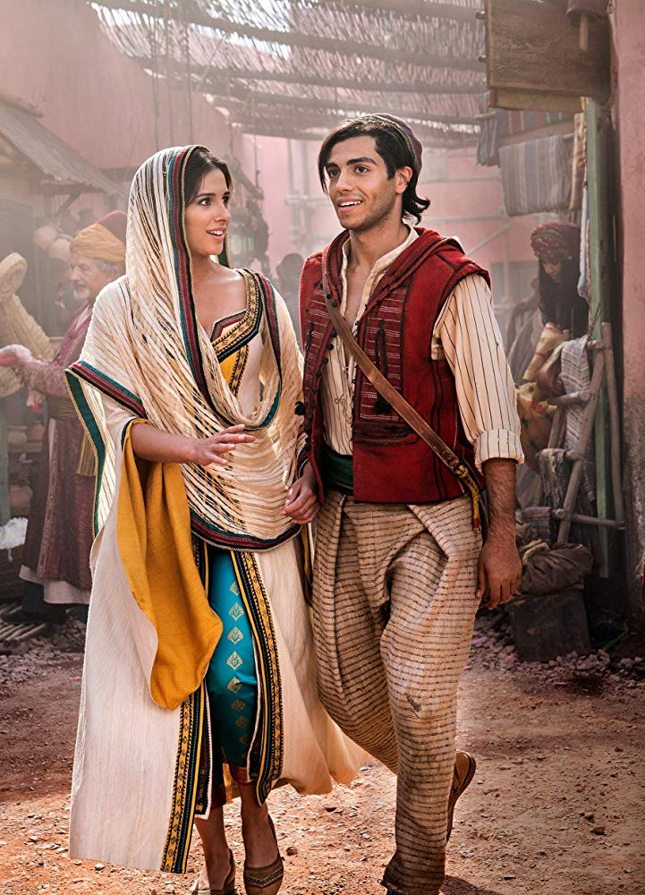 New Images of Naomi Scott as Jasmine in Disneys Aladdin 2019 721x1000