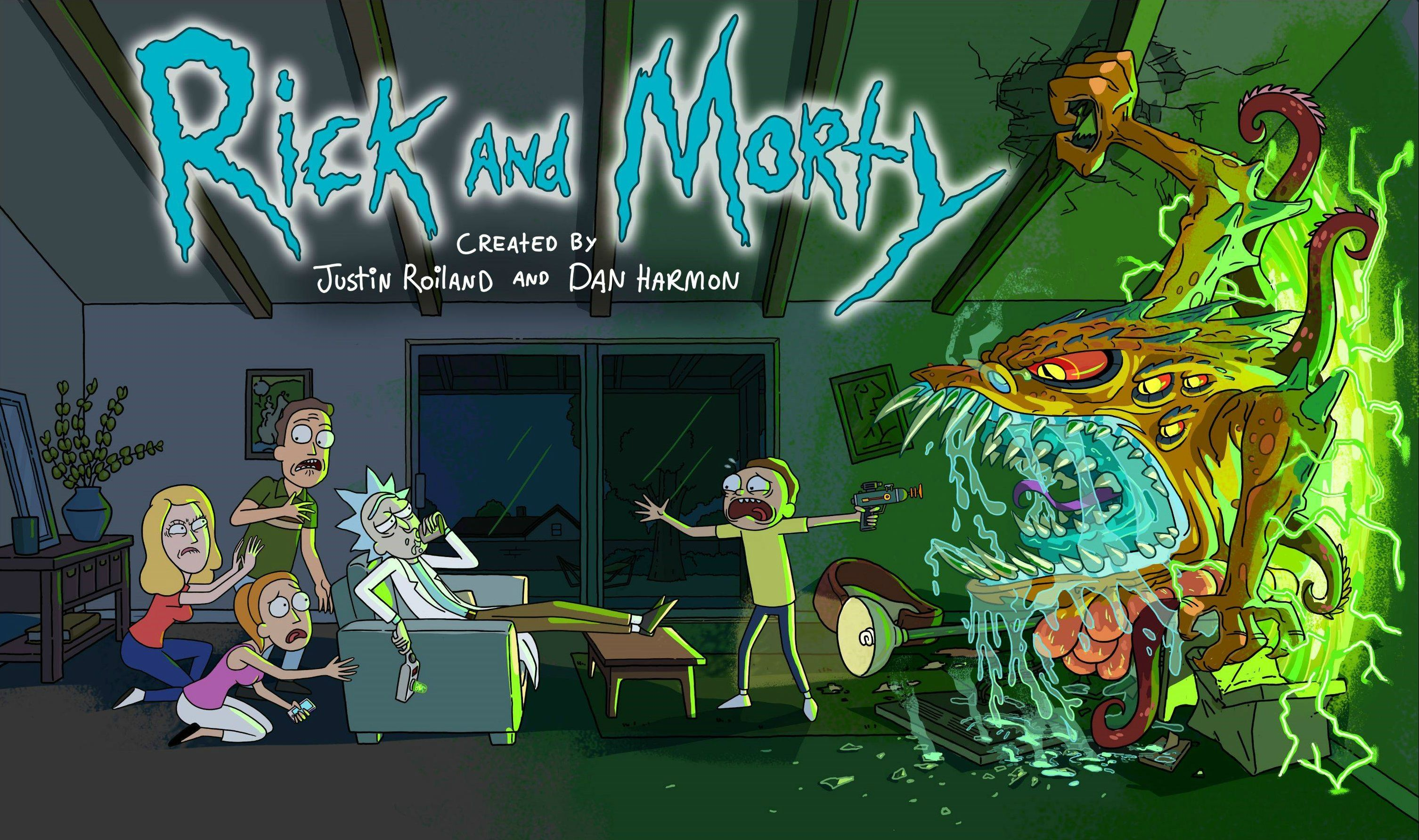 Rick and Morty Wallpaper HD 3012x1784