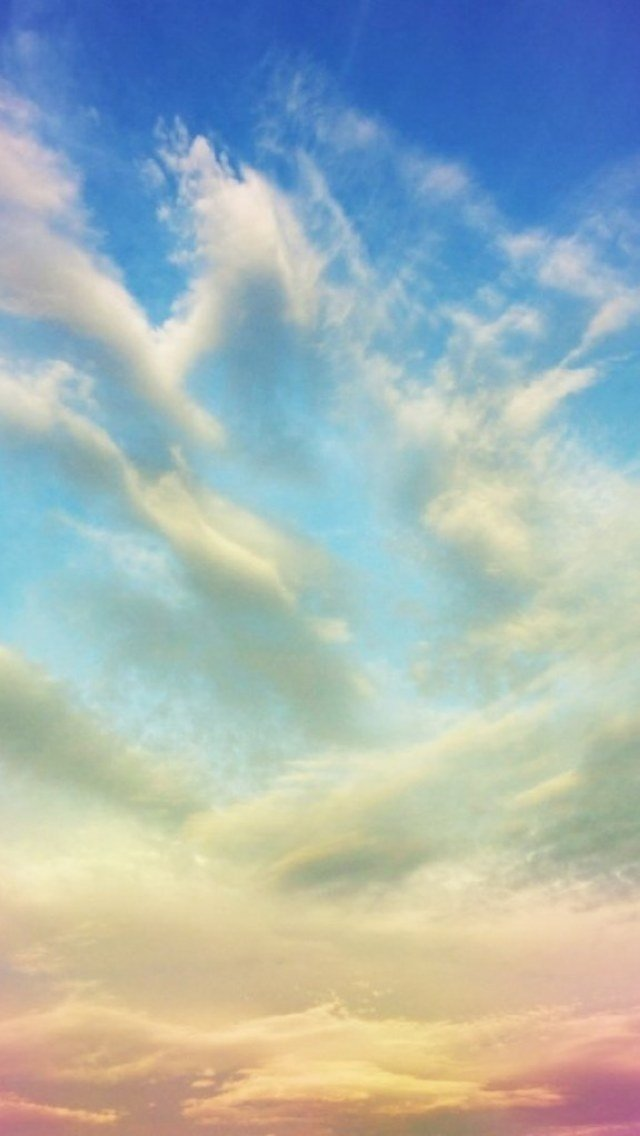 Sunny Sky Wallpaper   iPhone Wallpapers 640x1136
