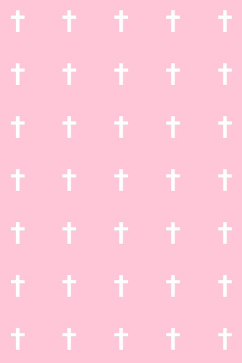 cross pale pastel goth pink soft grunge wallpaper 480x720
