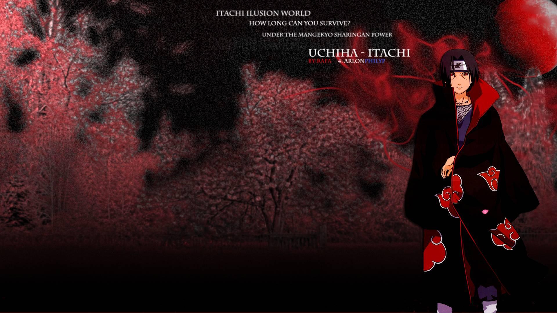 77] Itachi Background on WallpaperSafari 1920x1080