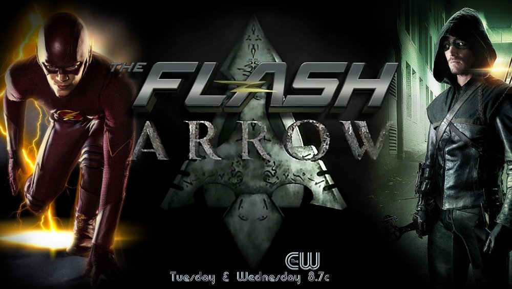 The Flash The Arrow HD wallpaper 1000x566