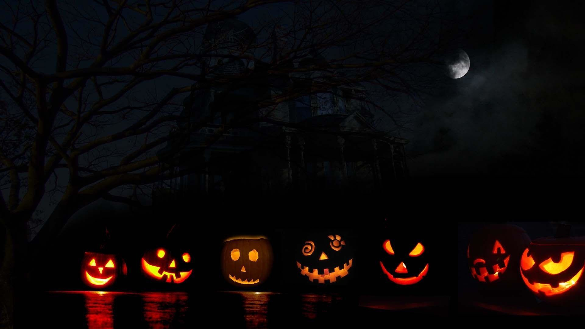 Halloween Computer Wallpaper Widescreen   Picseriocom 1920x1080