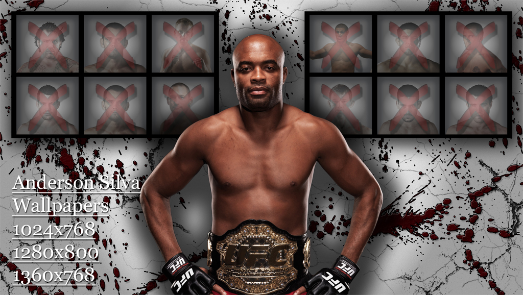Anderson Silva Wallpaper 2012 All About Top Stars 1024x578