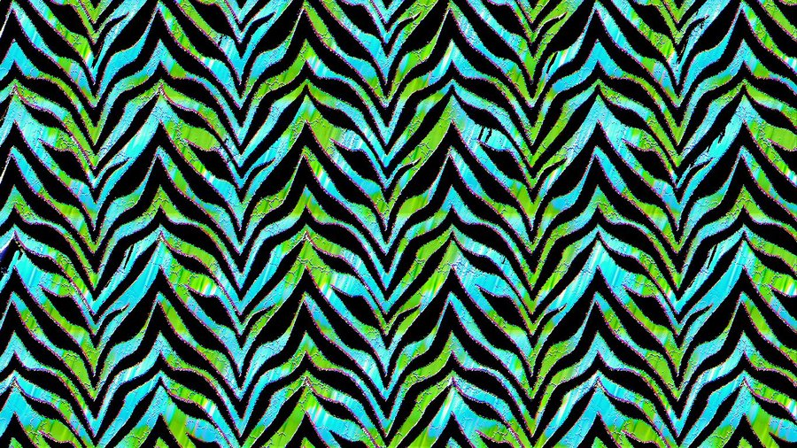 Blue and green Zebra by angelbluewolf 900x506