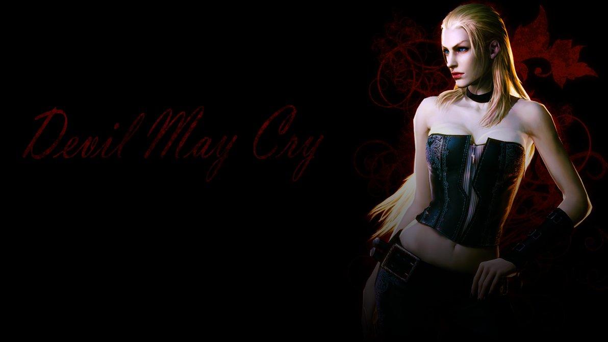 Devil May Cry Wallpaper Trish HD 1192x670