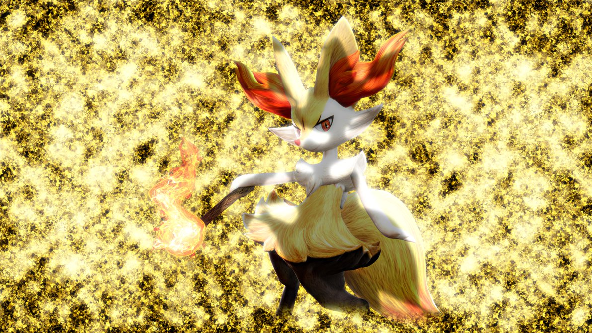 Braixen PT Wallpaper by Glench 1191x670