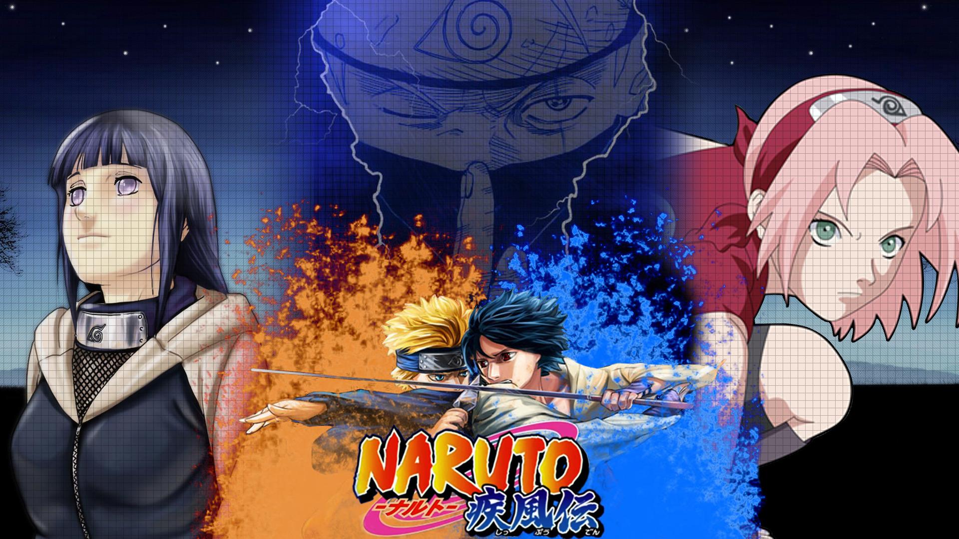Naruto vs Sasuke - Naruto Shippuden wallpaper #4631