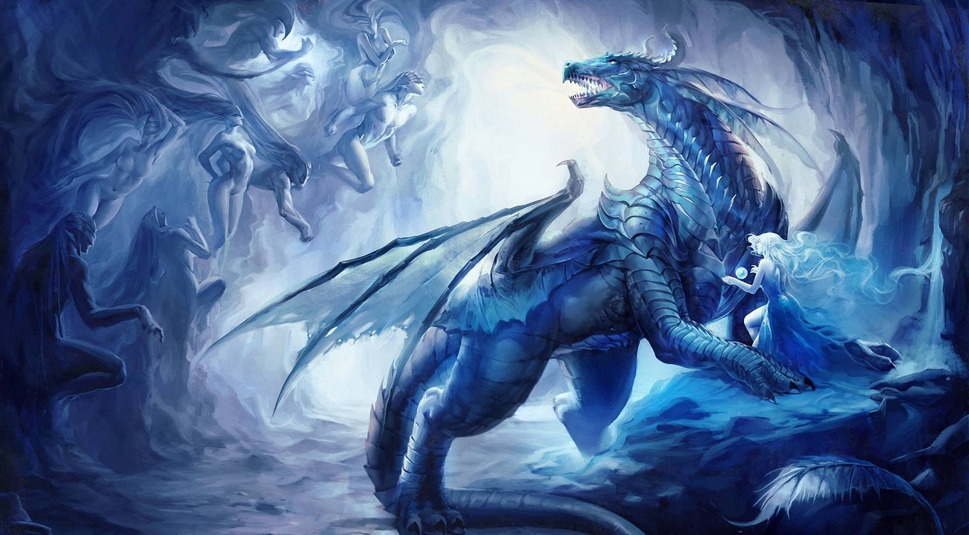 dazzling dragon   Dragons Wallpaper 1956x1080