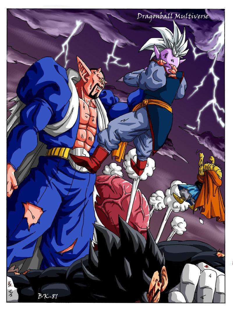 Dragon Ball Z images Dabura vs Gohan and Supreme Kai HD wallpaper 800x1067
