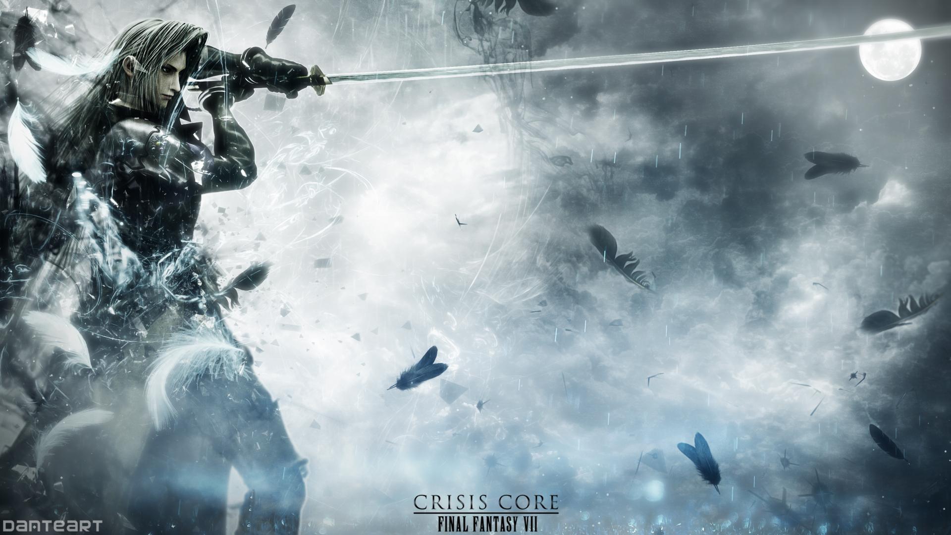 final fantasy 7 crisis core wallpaper hd