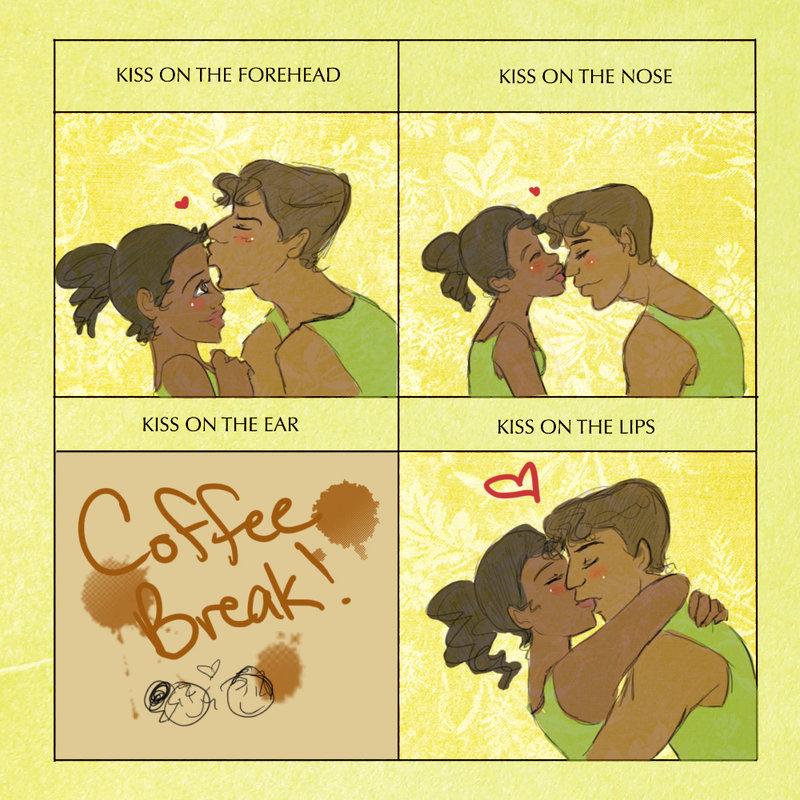 Tianaveen Cute Kiss Meme   Princesses Disney fan Art 29045834 800x800