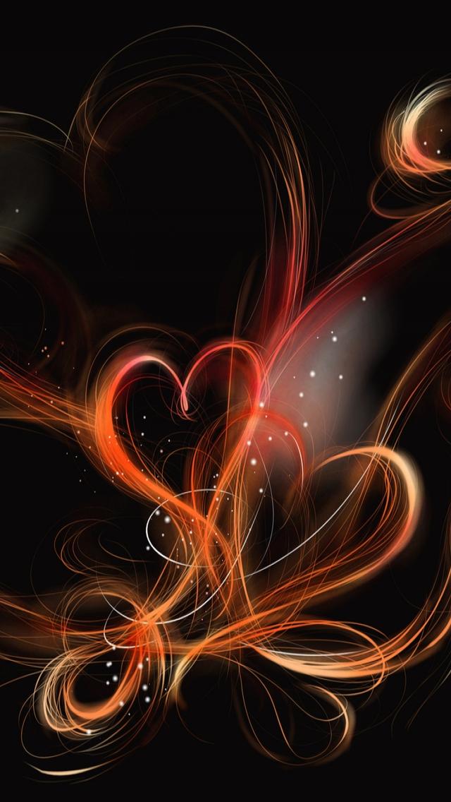 Heart Designs iPhone 5s Wallpaper Download iPhone Wallpapers iPad 640x1136