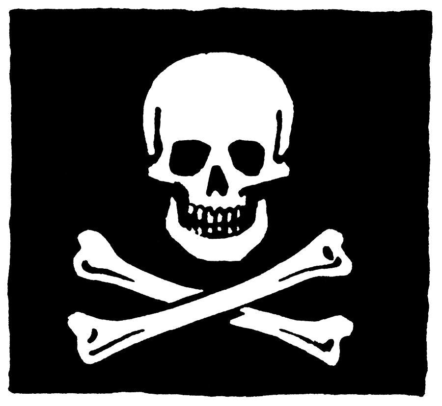 Jolly Roger Flag Photograph 900x828