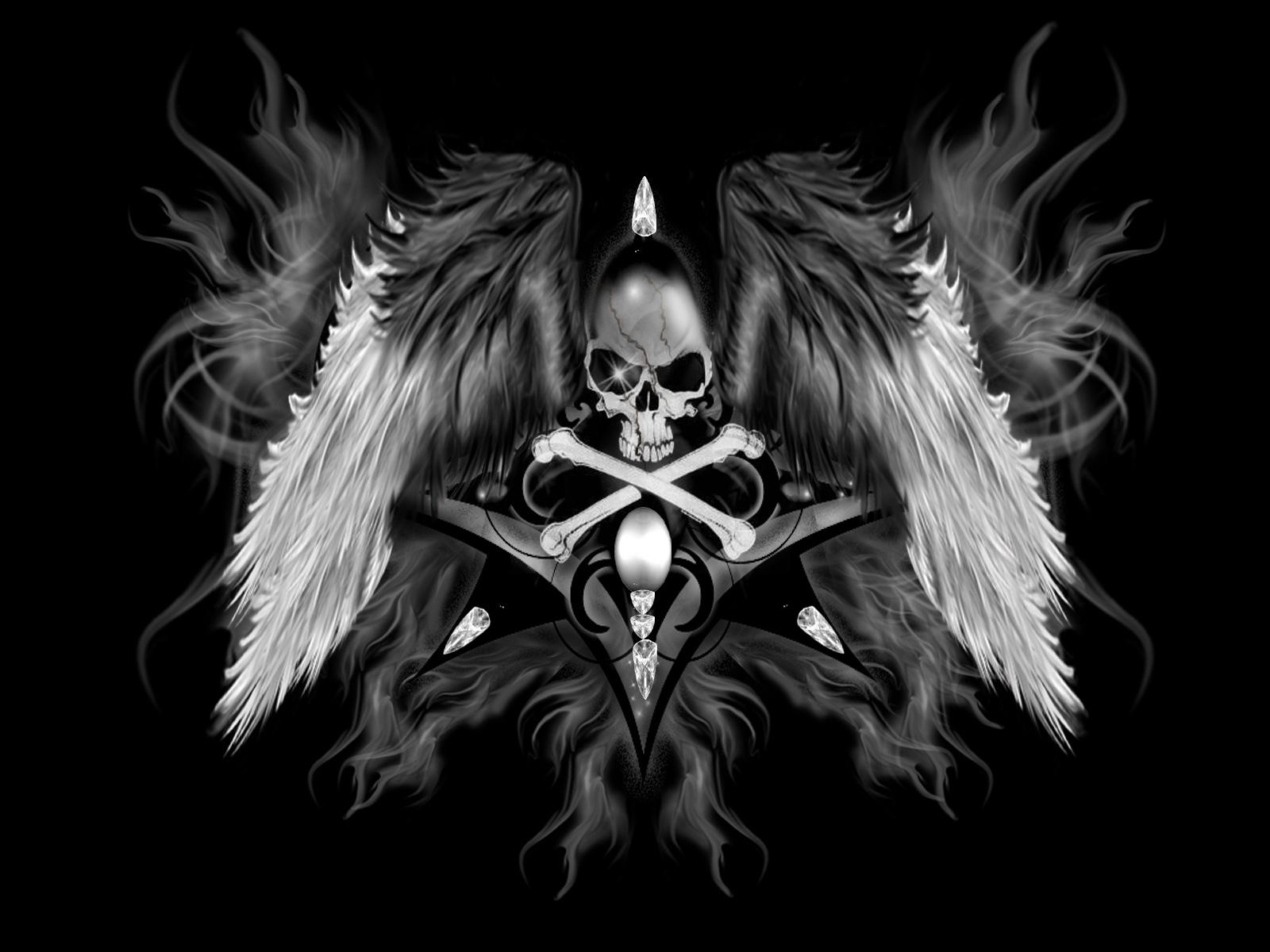 Free Download Death Wallpaper Gothic Skull Hd Wallpapers Da