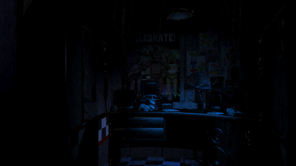fnaf  Dark background by Arska Inka 1024x576