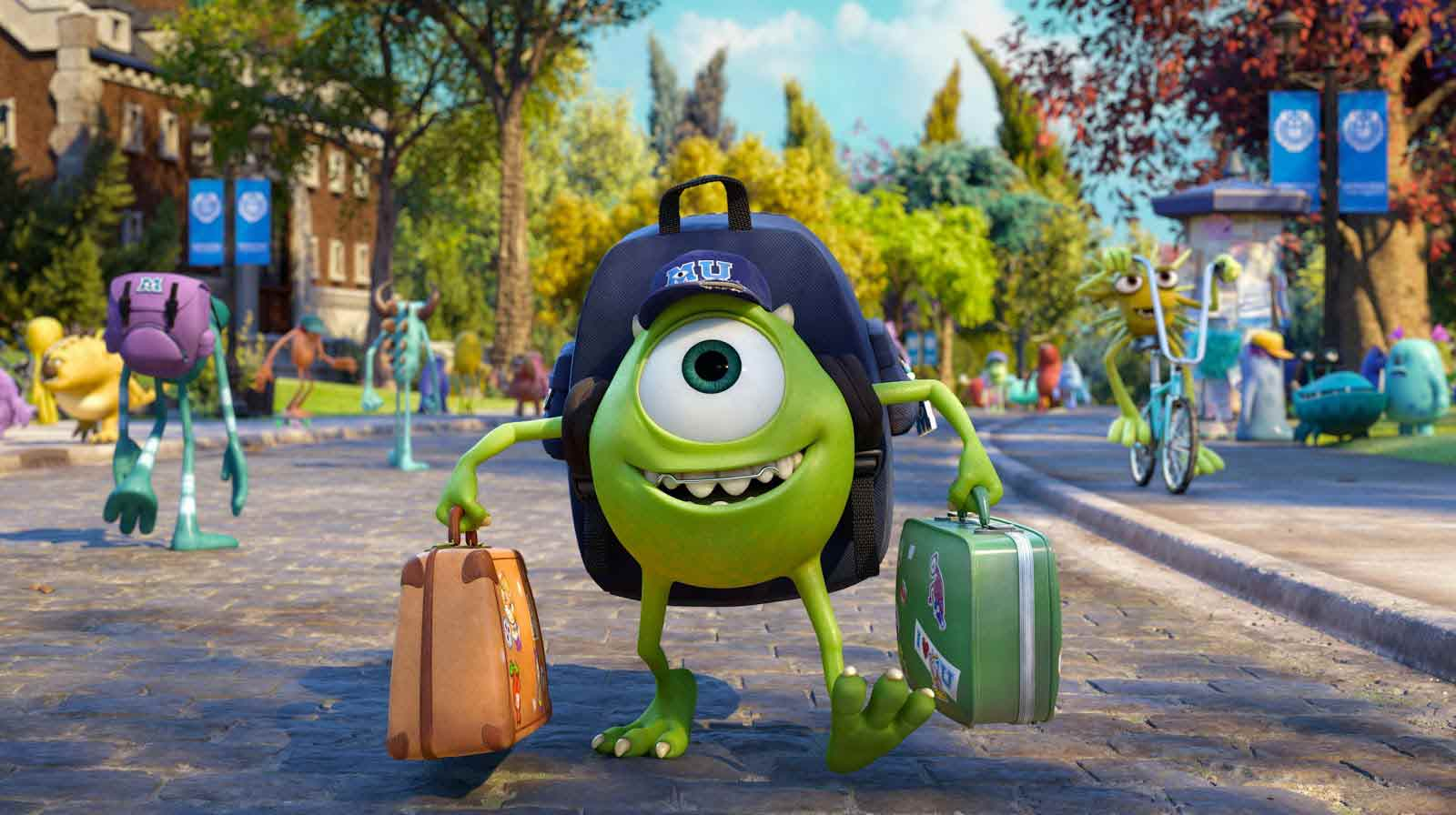 Monsters University Movie Wallpapers and Desktop Backgrounds HD 1600x896