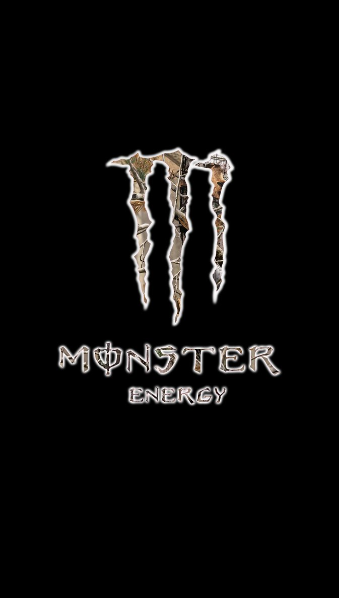Realtree Logo Wallpaper Monster energy logo with 673x1188