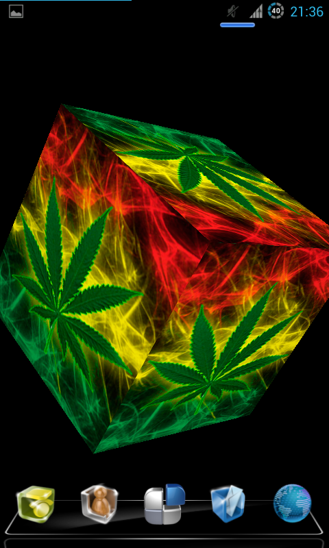 Marijuana Live Wallpaper 3D 30 screenshot 2