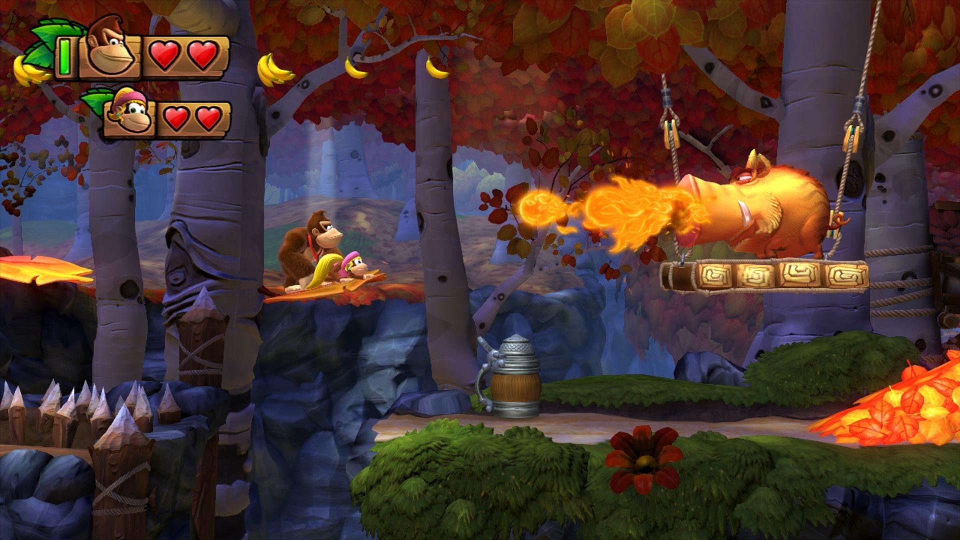 Free Download Donkey Kong Country Tropical Freeze Desktop