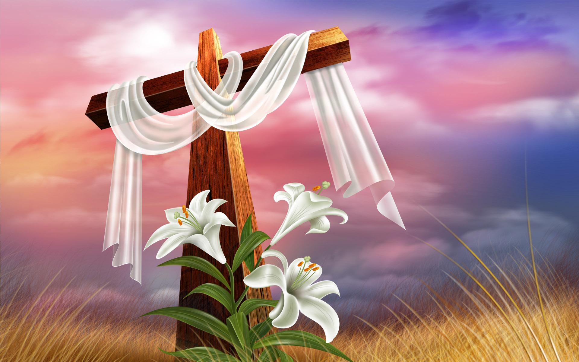 Easter cross wallpaper   609463 1920x1200