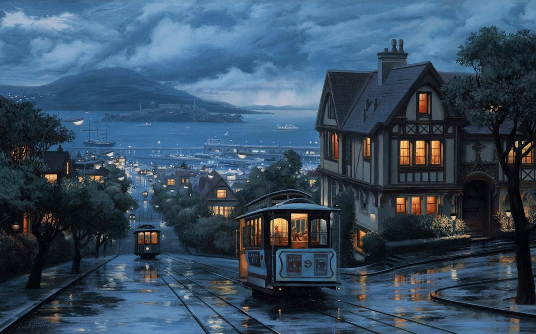 Rainy day in San Francisco pics 2880x1800