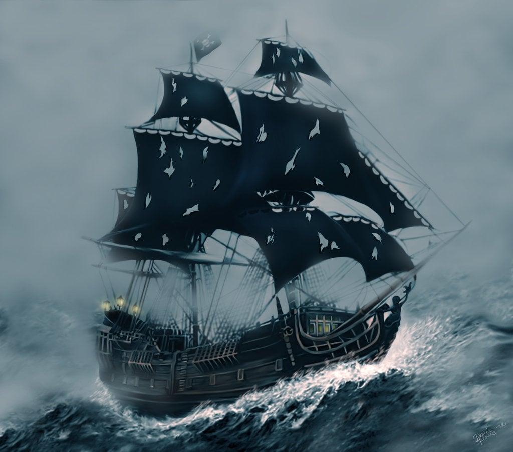 Pirates Of The Caribbean Wallpaper Hd: The Black Pearl Wallpaper